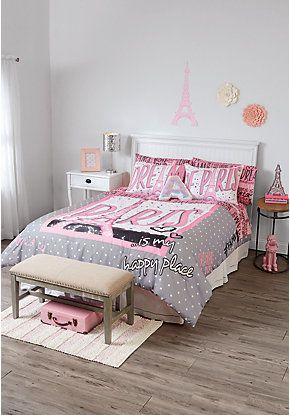 Girls room décor furniture bedding for tweens justice kids wish list pinterest room bed sets and spaces