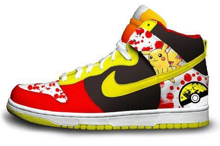 purchase cheap f19b3 29f29 Pikachu Nike SB Dunk Red Black Yellow