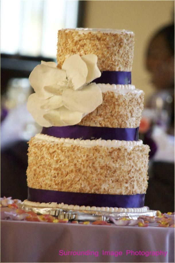 Coconut Wedding Cake And Bridal Inspiration