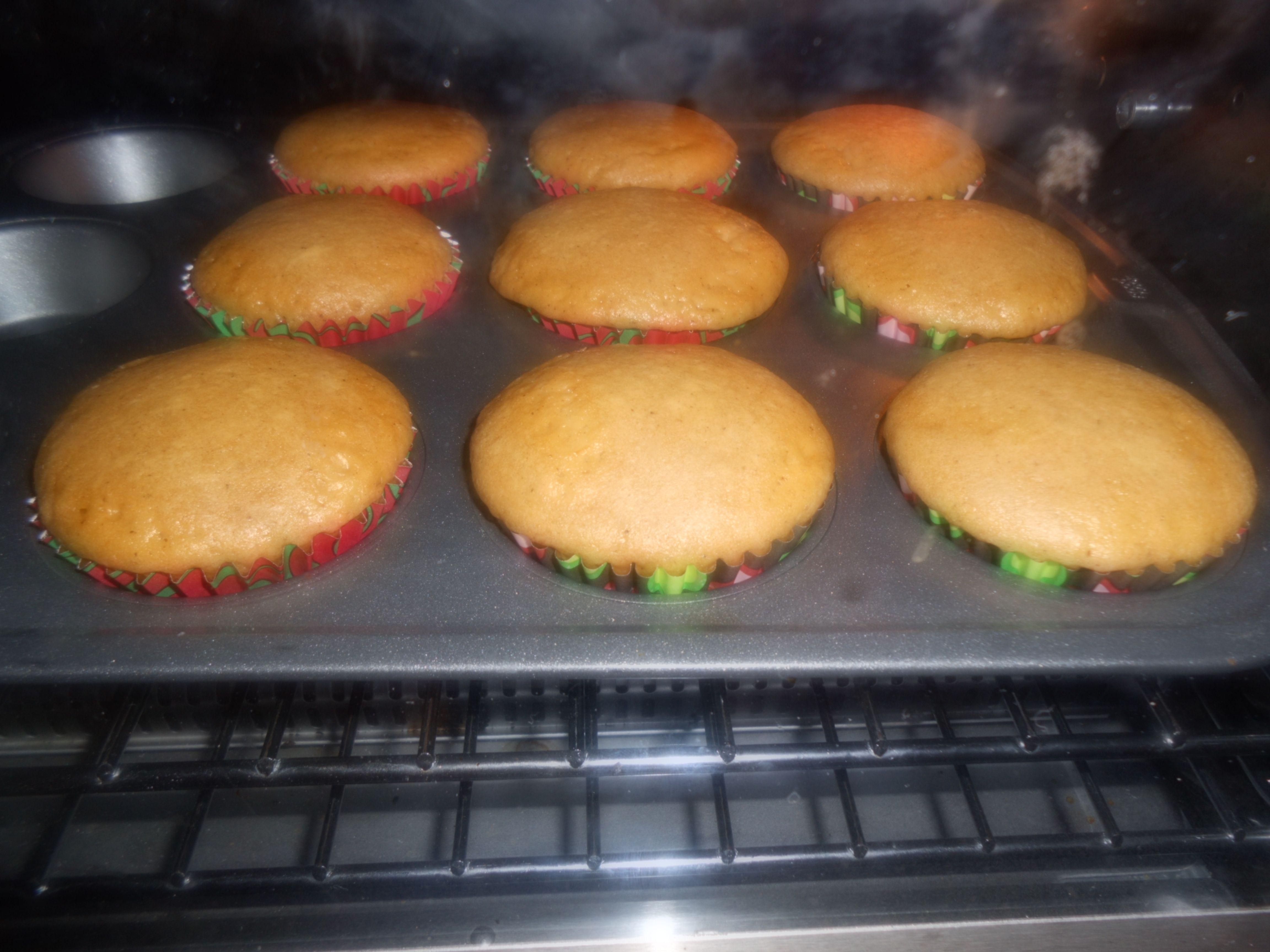 Pumpkin Pie Muffins (Leftover pie filling)