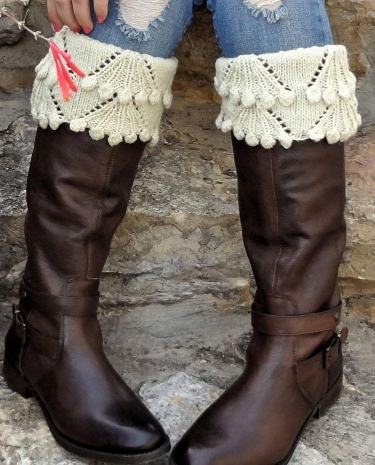 Knitting Pattern For Eleanor Boot Toppers Cool Crochet Pinterest
