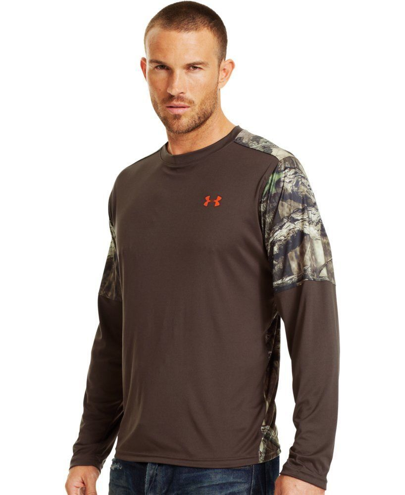 Under armour menus wylie long sleeve hunting shirt hunting shirts