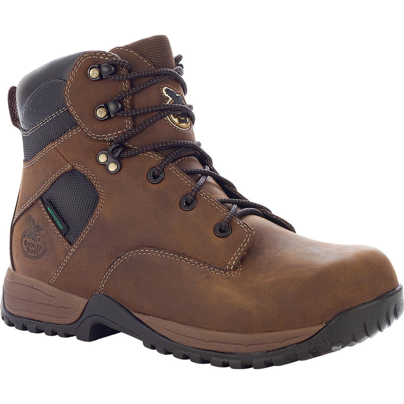 77df4814259 Georgia Boot: Men's Waterproof Hiker Work Shoe - Riverdale ...