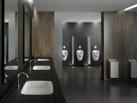 Public Bathroom No Touch Library Design Pinterest Restroom Design Public Restroom Design Washroom Design