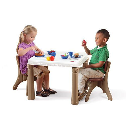 Step2 Lifestyle Kitchen Table And Chair Set Kids Table Chair Set