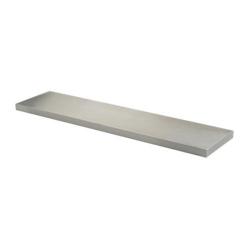 Rvs Wandplank Ikea.Ekby Mossby Plank Roestvrij Staal Badkamer Keukens Interieur