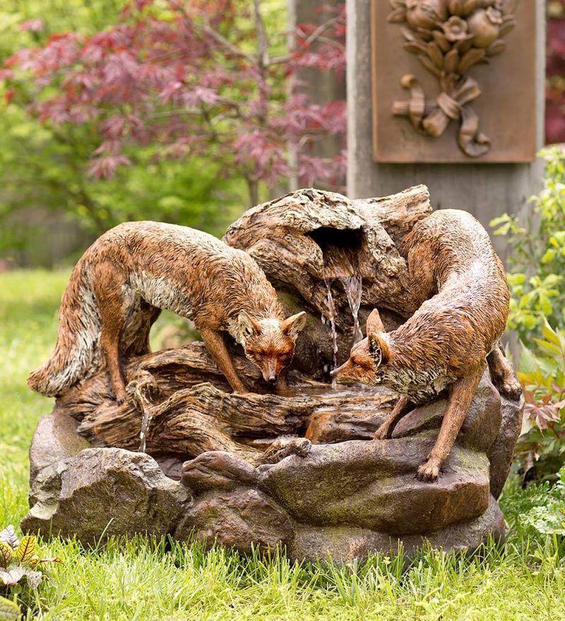anleitung: springbrunnen aus kies   gardens, Garten ideen