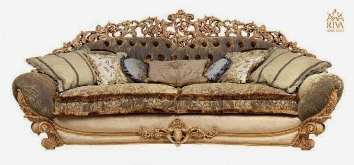 Italy Carved Sofa Classic Furniture Carved Sofa Royal Furniture