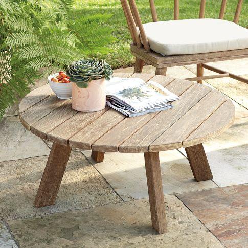 Dexter Outdoor Coffee Table West Elm Garden Coffee Table