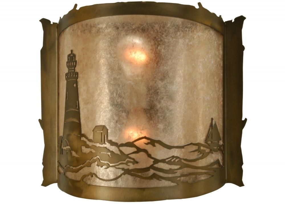 lighthouse wall sconce meyda tiffany - Meyda Tiffany