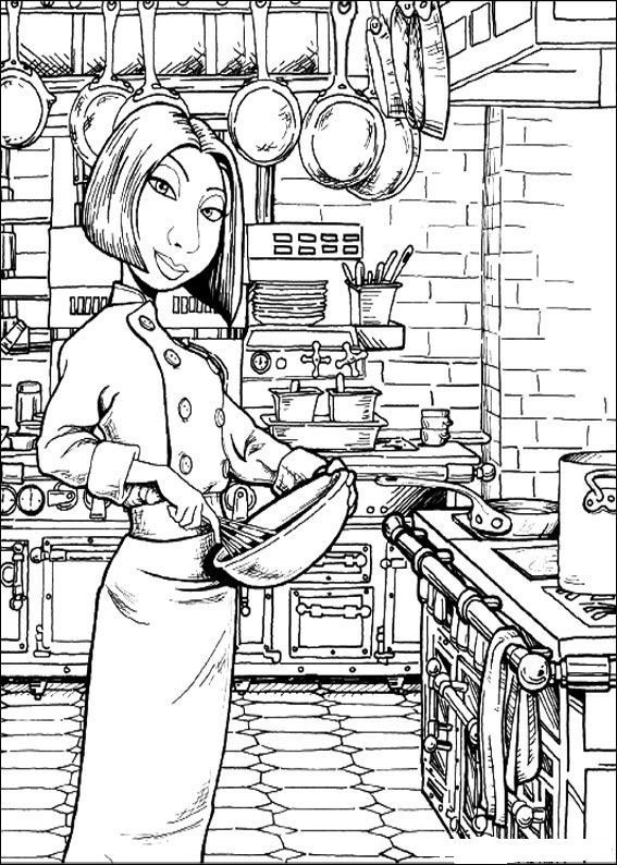 coloring page Ratatouille