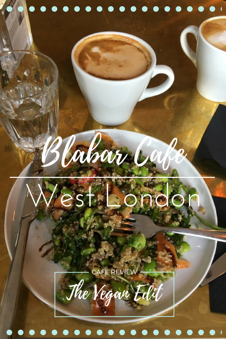 Blabar Cafe Putney, West London. My review of this super