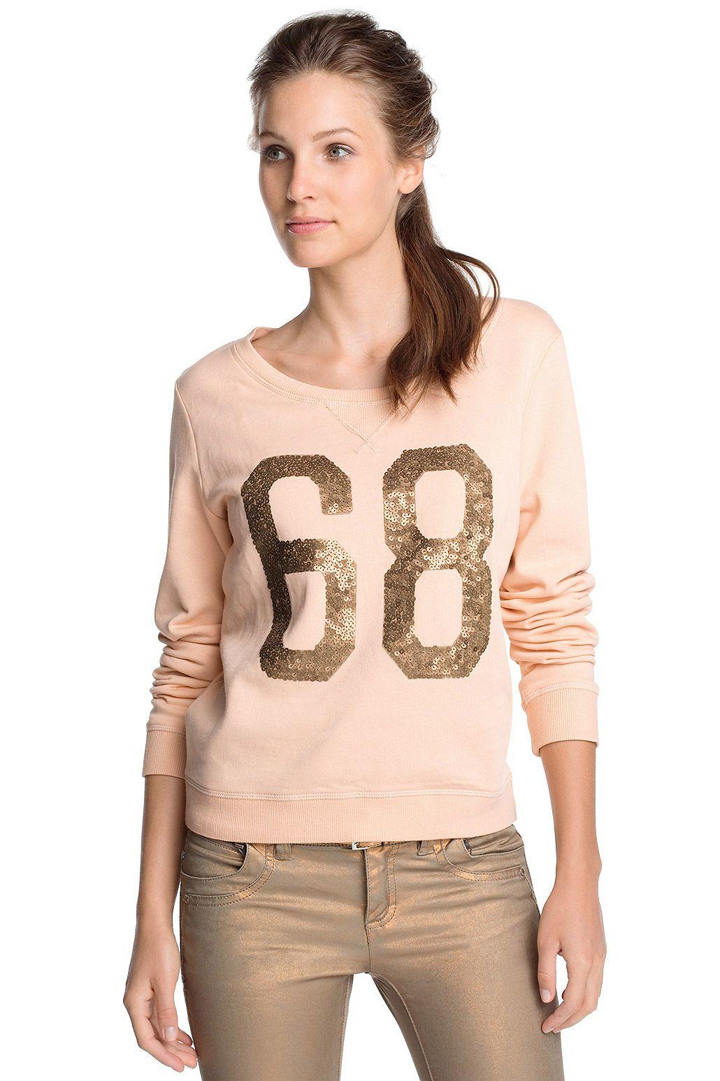 Sweatshirt aus Baumwolle CASUAL - Esprit Online-Shop