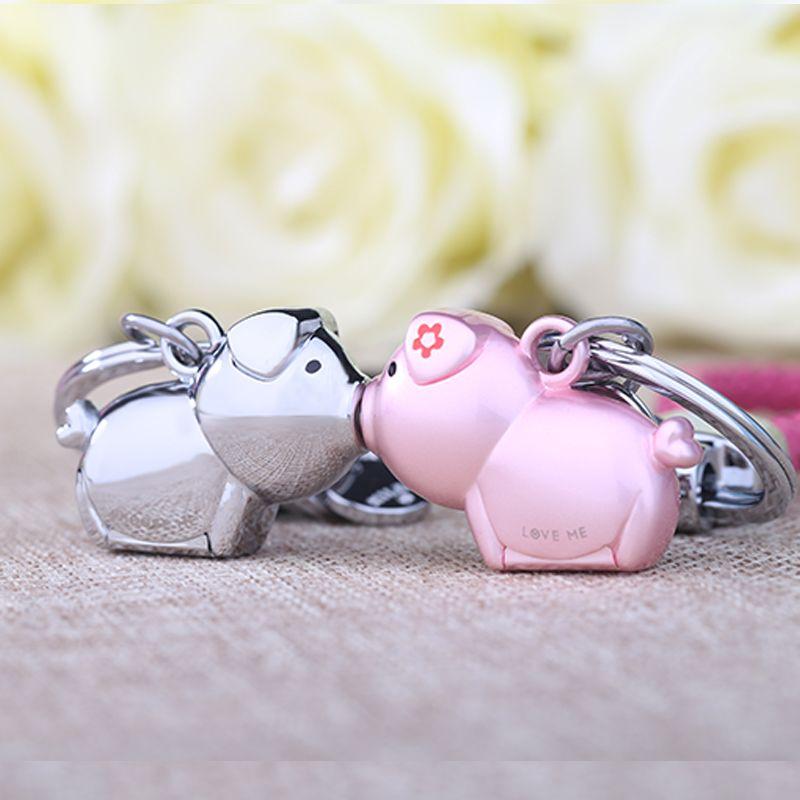 milesi 3d kuss schwein paar schl sselbund f r liebhaber geschenk schmuckst ck sch ne. Black Bedroom Furniture Sets. Home Design Ideas