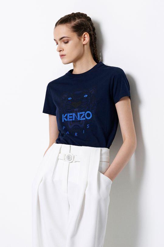 4204ae9e847 Kenzo Tiger t-shirt - Kenzo Spring Summer 2015 Women - Kenzo E-shop ...