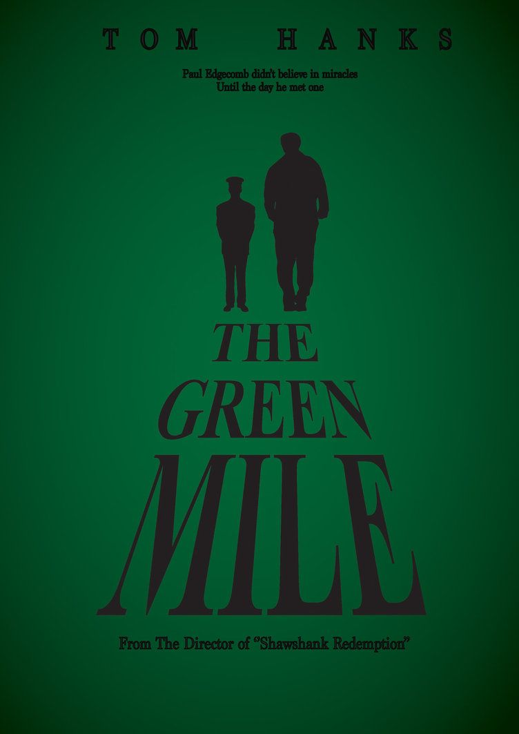 the green mile book movie contrast Compare/contrast essay books filled with suspense and thrills are often hard to portray on screen when frank darabont projected stephen king's novel, the green.
