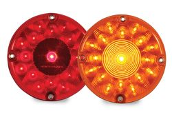 7 Inch LED Light | Red LED Towing Light