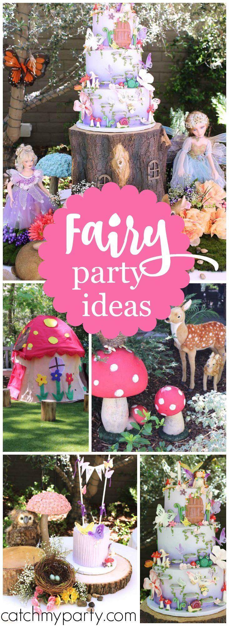 Fairy Tale Birthday Enchanted Fairy Gardens Pinterest Girl