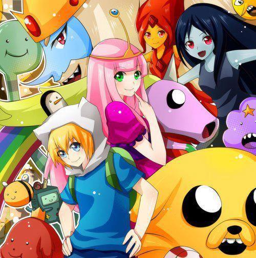 Hora de aventura version anime adventure time pinterest hora de aventura version anime thecheapjerseys Images