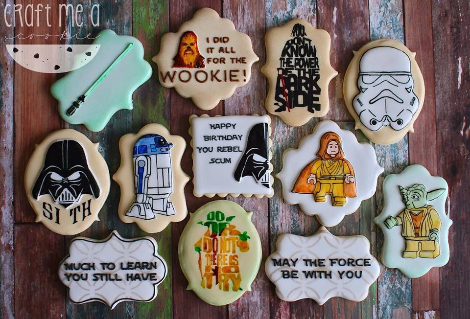 Star Wars cookie