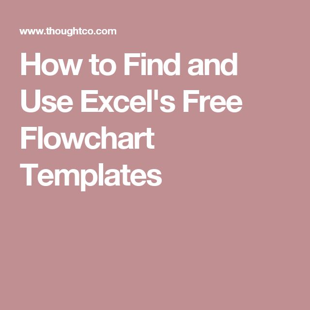Download And Open ExcelS Decision Tree Flowchart Template