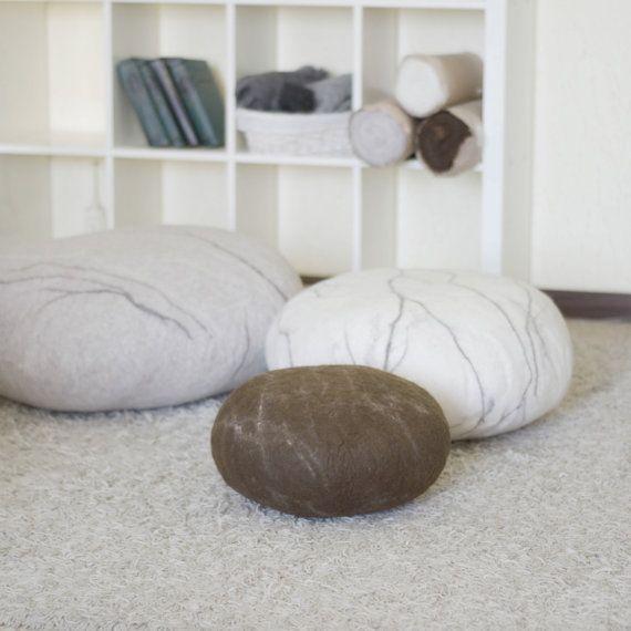 Pouf - Ottoman - Floor pillows - Floor cushions - Pouf ottoman ...