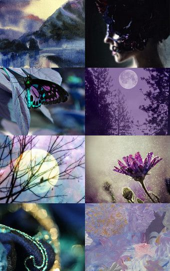 When The Deep Purple Falls... by Linda Voth on Etsy--Pinned with TreasuryPin.com