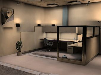 Warehouse Office Design Design And Furniture Specification