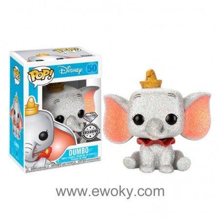 Figura Funko Pop Disney Dumbo Glitter Exclusive Tienda Funko Pop Barcelona 33 02 Diamond Collection Figura Juguetes De Disney Figura De Vinilo Muñecos Pop
