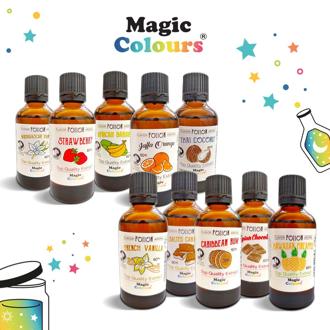 10 Off Flavour Potions in 2020 Cake decorating company