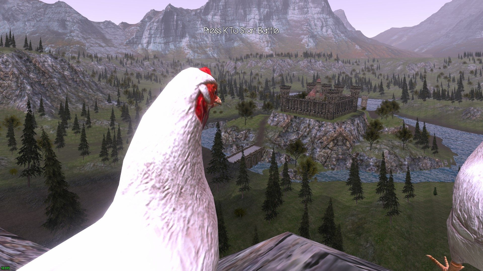 Upvote and I release the Chickens onto the castle