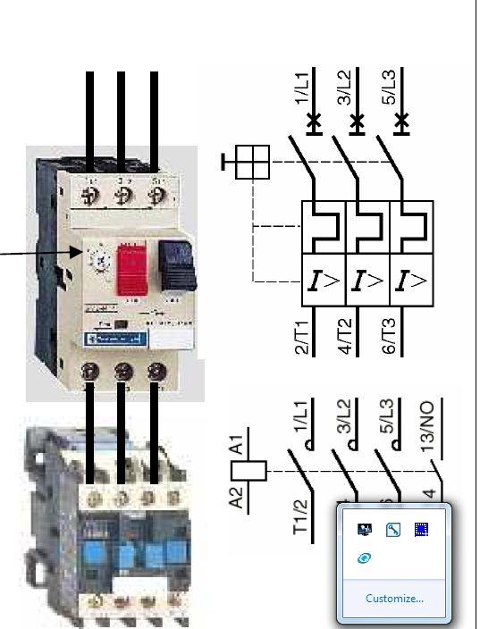 schema de branchement du0027un contacteur de puissance - Recherche
