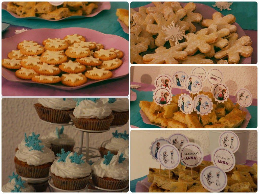 AMICHE SCRAPPOSE: Birthday party.... Frozen