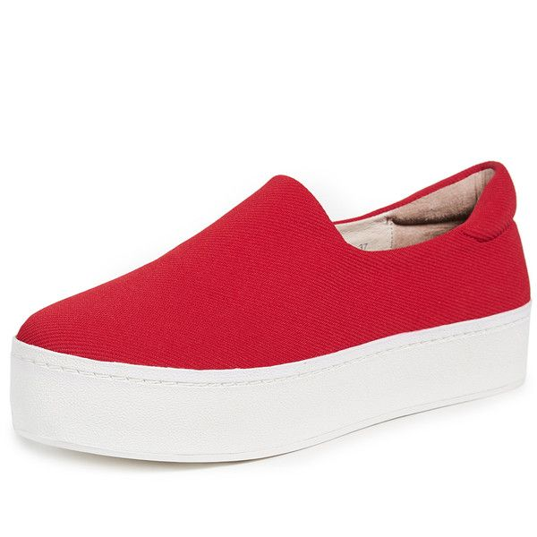 e4db87243516 Opening Ceremony Cici Slip On Platform Sneakers ( 195) ❤ liked on Polyvore  featuring shoes