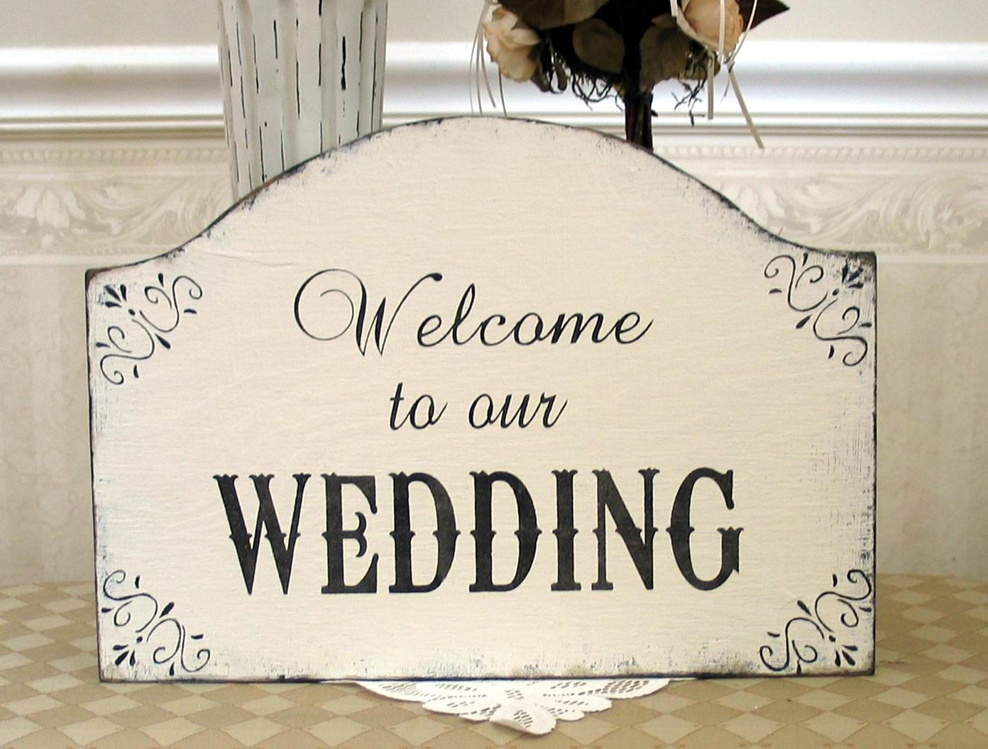 Beautiful Welcome To Our Wedding Ideas Styles 2018