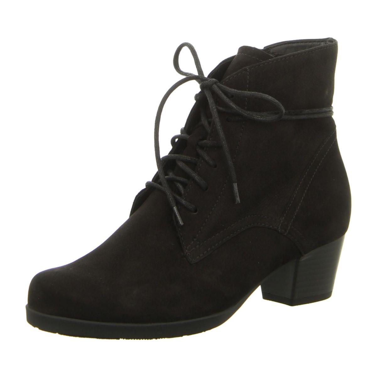 Gabor Damen Basic Stiefel  38 EUGrau (Anthrazit 19)