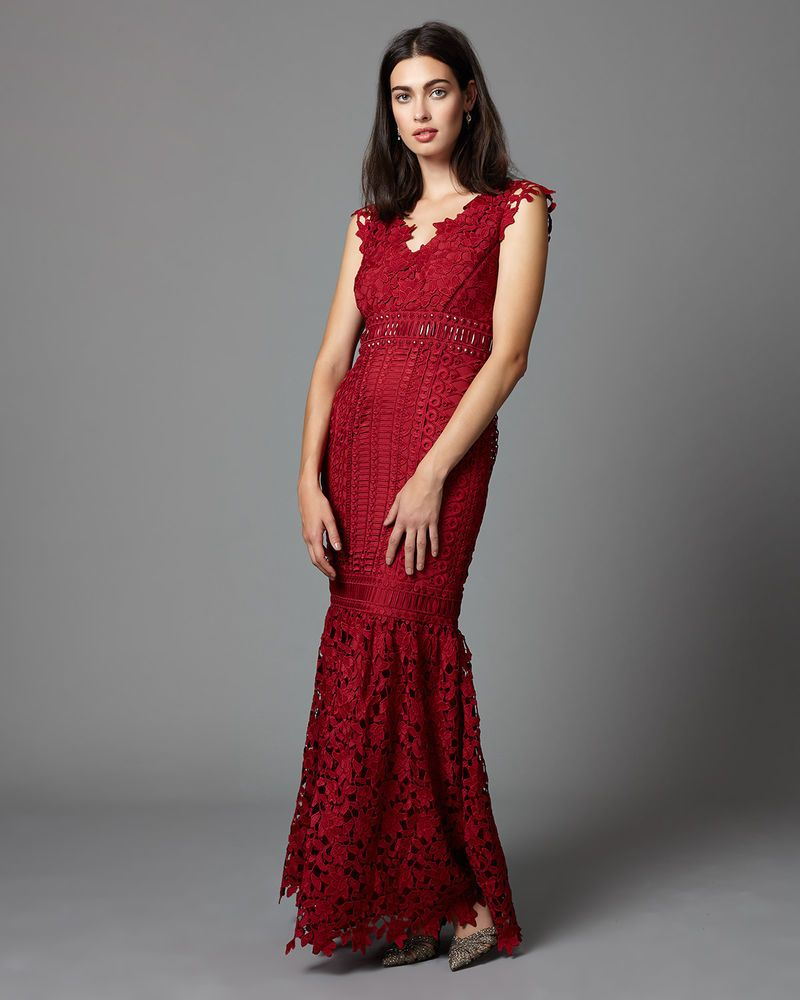 Phase Eight Collection Sauvan Lace Dress Size Uk 6 Rrp 325 Lf079 Bb