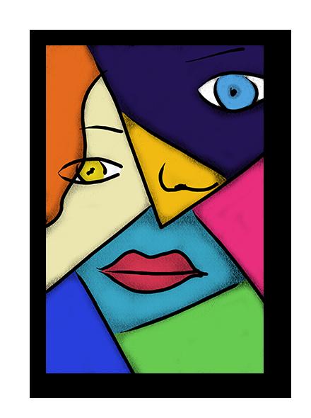 Pop Art Cubism Poster Cubism Art Pop Art Picasso Art