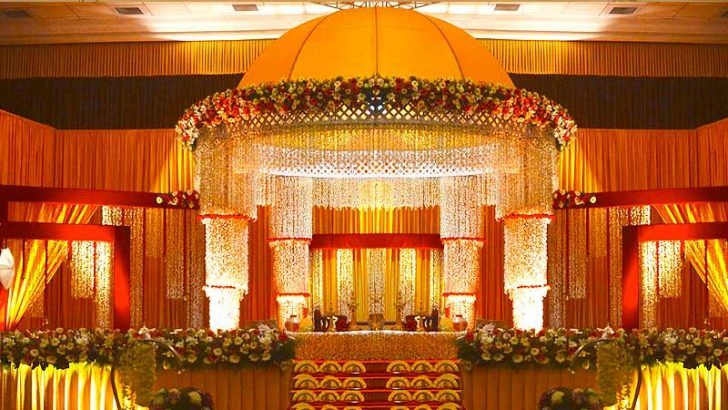 Hindu Wedding Stage Decoration Photos Archana S Collection In 2019