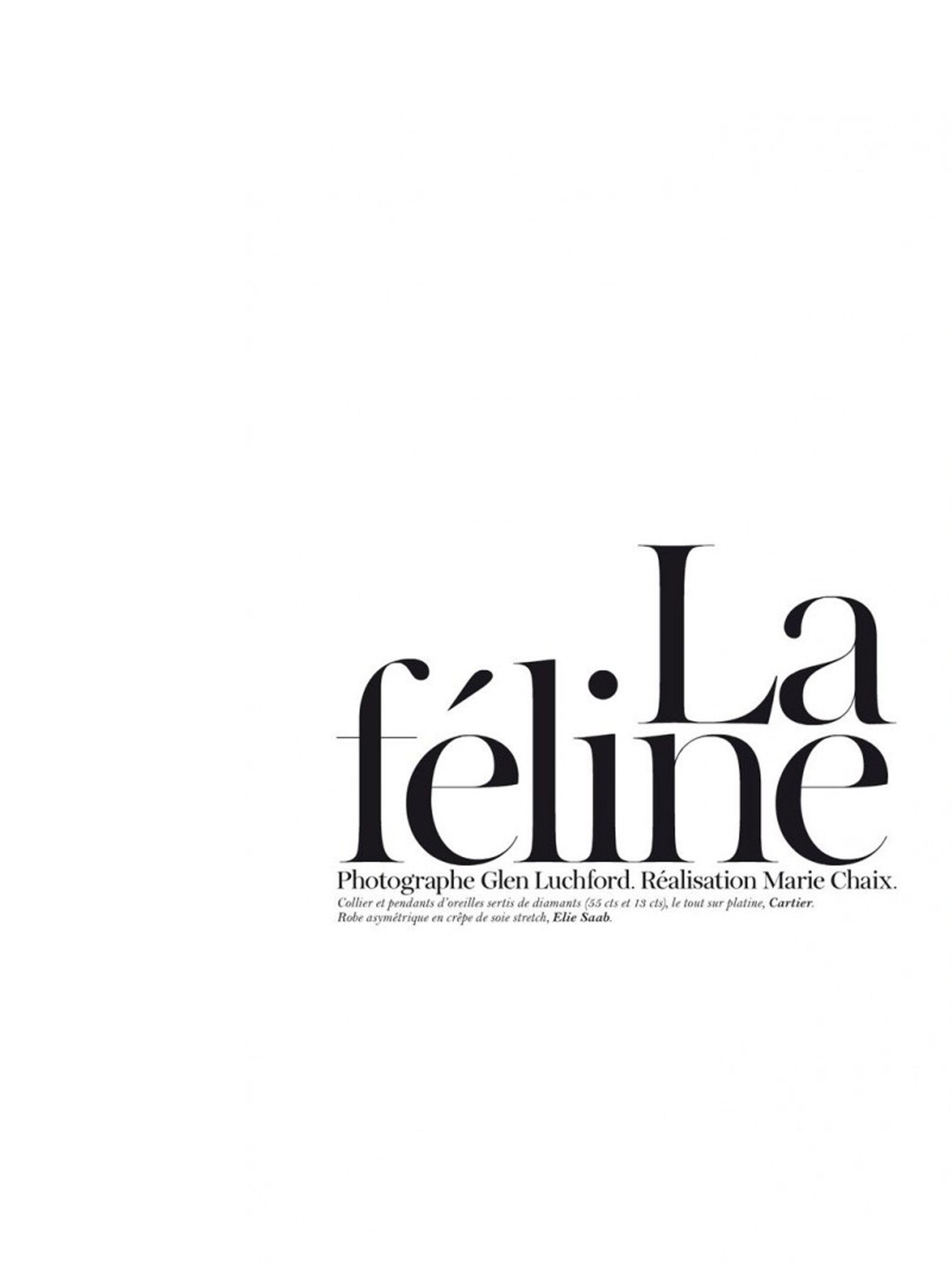 Malgosia Bela by Glen Luchford for Vogue Paris June July