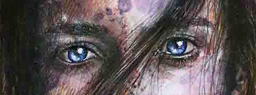 "Regard Oppression / Collection ""Parhélie"" / 21 x 29.7 cm / Modèle : Abigail by #brianingram / #portrait #art #sketch #fredml #ink #aquarelle #drips #ink #sketching #streetart #emotion #expression #sensual #woman"