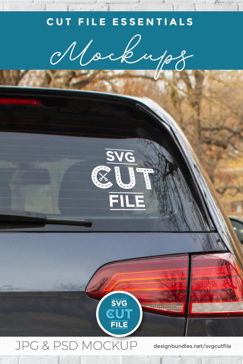 Car Decal Mockup Vinyl Decal Mock Up Car Sticker Psd File 412971 Signage Design Bundles Car Stickers Car Decals Custom Car Decals