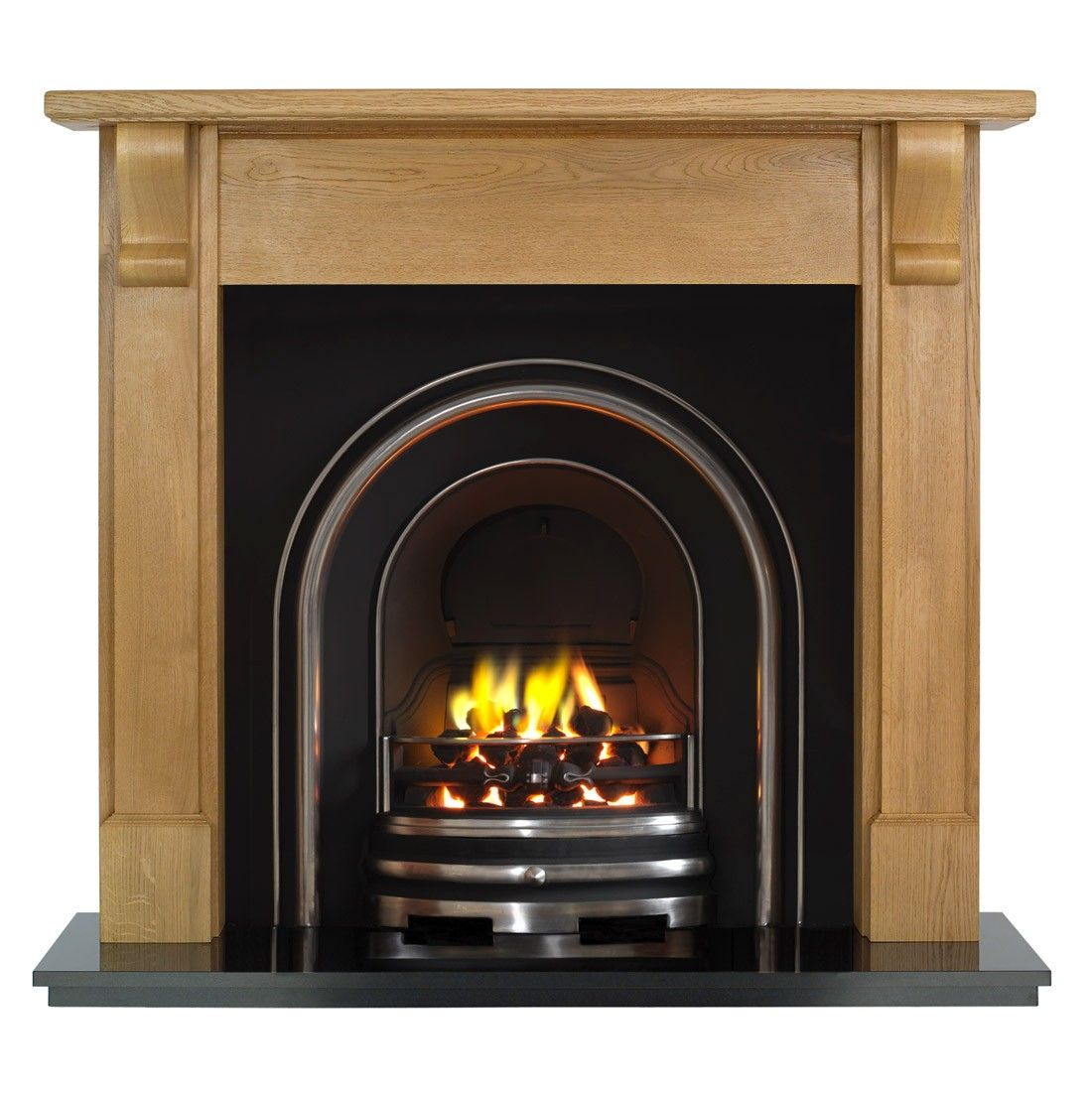 Bedford Arch Fireplace Package Wood Fireplaces Fireplace Packages Wooden Fireplace Wood Fireplace Cast Iron Fireplace