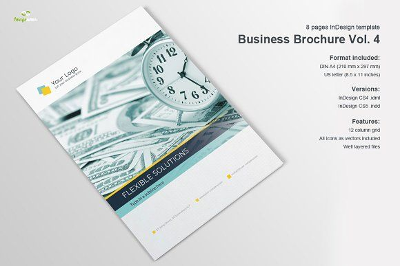 Company Profile 8 Pages Brochure Template Brochures And