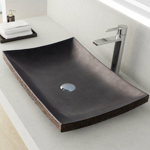 Found It At Wayfair  Payson Stone Rectangular Vessel Bathroom Entrancing Wayfair Bathroom Sinks Decorating Design