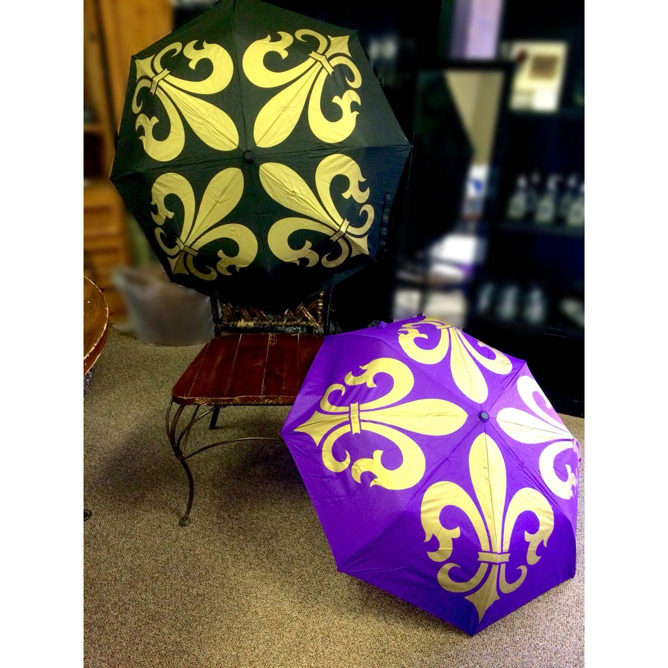 A Plus Gifts - FDL black/gold & purple/gold Umbrella, 985-276-0929