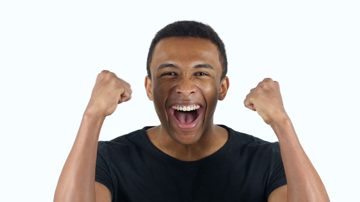 17 Excited Png Black Image Icon Png Images Image