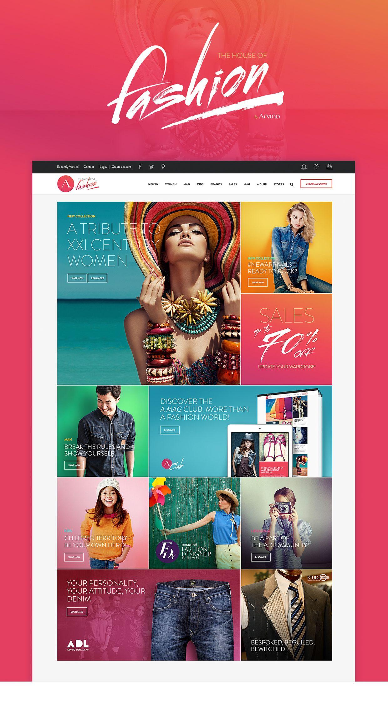 Arvind UI/UX Omnichannel Project by Plastic Creative Studio Web Design / Layout