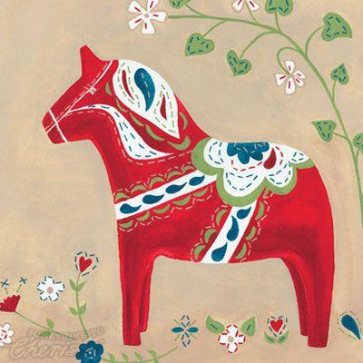 Swedish Dala Horse Something To Cherish Dala Horse Scandinavian Folk Art Scandinavian Art
