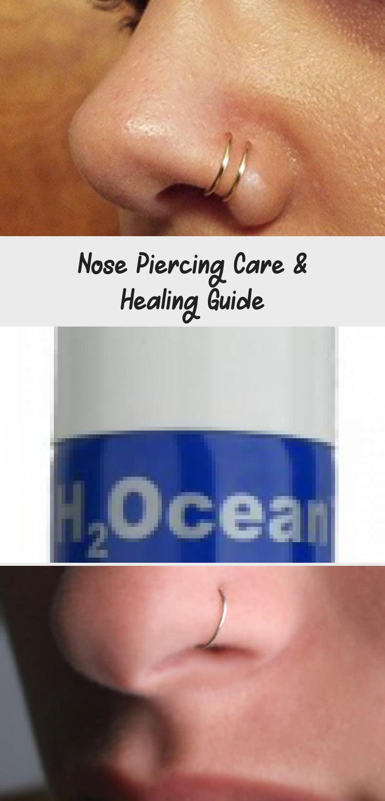 Photo of Nose Piercing Care & Healing Guide – PIERCINGS –  Nose Piercing Aftercare #pierc…